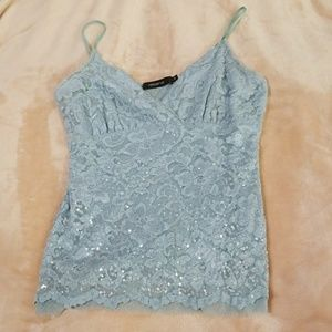 💕Arden B💕 Sequin Lace Top